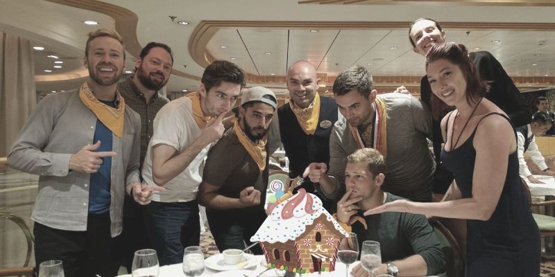 Gingerbread Wars is a fun company holiday party and corporate event idea.